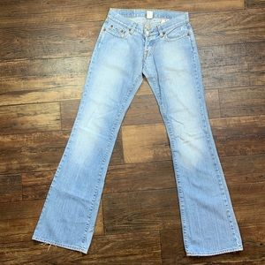 Flare Light wash Lucky Brand lil' Maggie Jeans